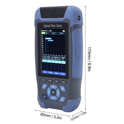 Portable Optical Time Domain Reflectometer OTDR Fiber Tester with 8 Functions