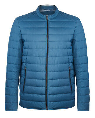 Remus Uomo - Blue Lightweight Quilted Slim Fit Casual Jacket RRP £129 - 80271/25