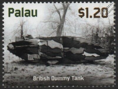 WWI British Army Dummy Tank (Royal Engineer School of Camouflage) Stamp