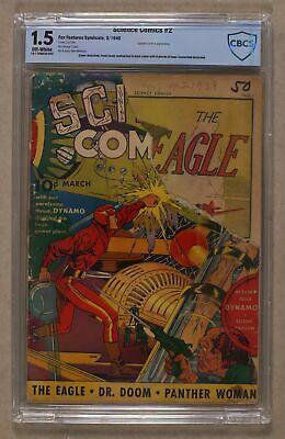 Science Comics #2 CBCS 1.5 1940