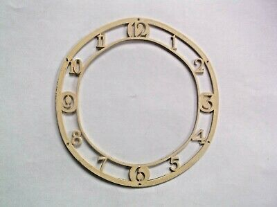 A Chapter Ring From An  Old    Mantle Clock Ref Sa 1