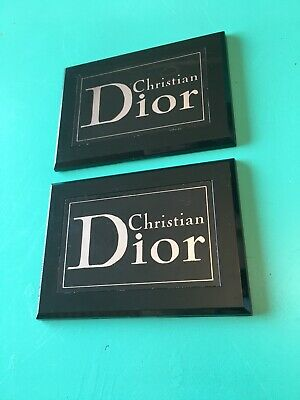 Unused Christian Dior Authentic Store Display Plaques From 1976 . Dior 1