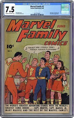 Marvel Family #2 CGC 7.5 1946 2012719002