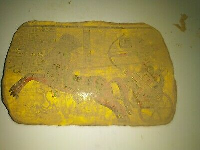RARE ANCIENT EGYPTIAN ANTIQUE RAMSES II Hunting Pottery Fragment 1279-1213 BC