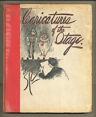 Caricatures of the Stage HC #NN GD/VG 3.0 1898