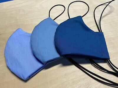 Face Mask Around-The-Head Elastic - Washable/Breathable Homemade In Usa
