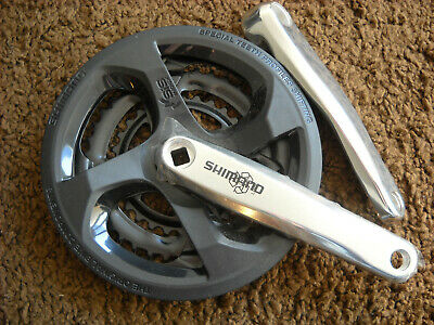 Shimano nexave manivelle fc-c530 tête carrée 170mm 38 dents singlespeed//un fixie neuf