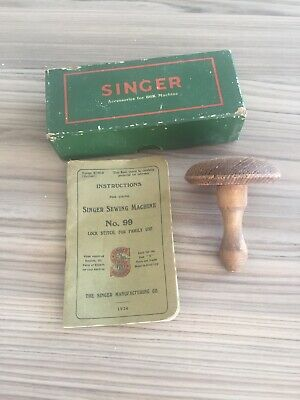 Vintage Sewing Machine Accessories for Singer 66K Machine box & Instructions 99