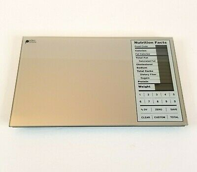 Perfect Portions Digital Scale Nutrition Facts Display