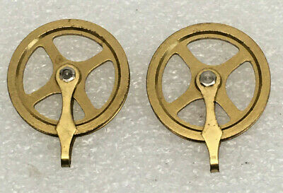 Hermle Grandfather clock weight cable Pulley 1 3//4 inch for parts Used 1 piece