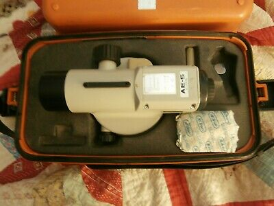 Nikon Ae-5 Engineers Automatic Level W/Case