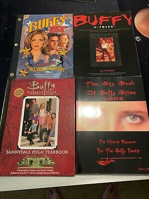 Buffy The Vampire Slayer Book Lot