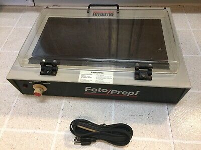 Fotodyne UV-Transilluminator Foto/PrepI Model 3-3500 Analytical Preparative