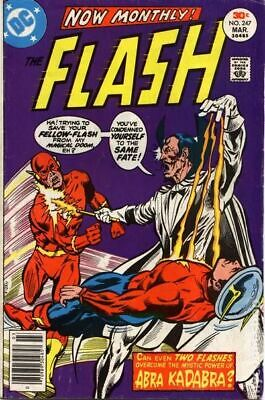 Flash #248 VG 4.5 1977 Stock Image Low Grade