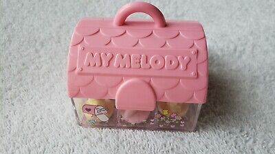 Vintage My Melody Bunny & Friends Sanrio Mini Rubber Stamp Set Japan