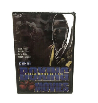 Great Boxing Movies: The Joe Louis Story/ The Fighter/ Fight for the Title (DVD,