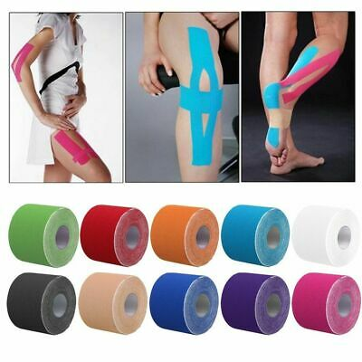 5m Kinesiology Tape   Sports Physio Knee Shoulder Body Muscle Support For Sports