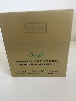oasis whats the story morning glory Singles Box Set Cigarette Case CD