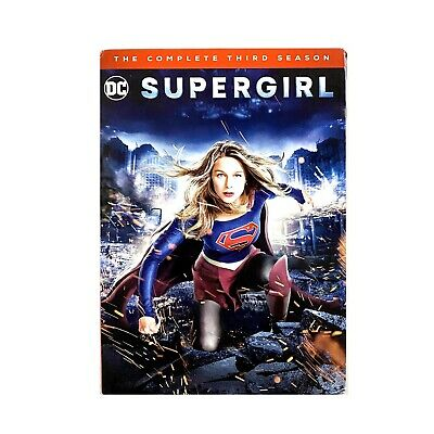 Supergirl: The Complete Third Season (DVD, 2018)