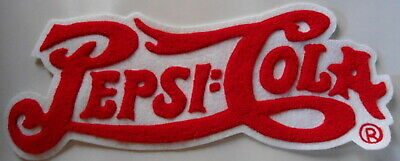 Pepsi-Cola  Large  Older Patch    Nice  Condition     Free Shipping