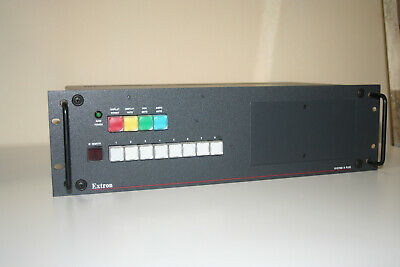 Extron Audio Video Router System 8 Plus
