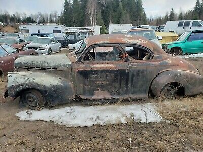 1941 Chevrolet Special Deluxe Coupe 1941 Chevrolet Coupe,  Rough Resto or Parts