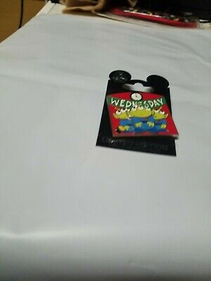 Disney little green men day of the week Wednesday trading pin