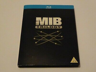 Men In Black 1-3 - The Complete Trilogy Collection - GENUINE UK 3x BLU-RAY SET