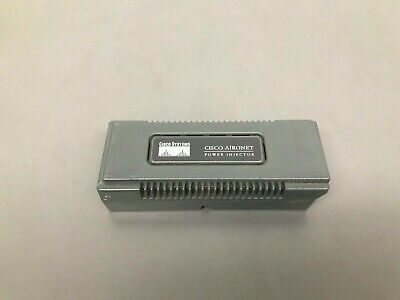 CISCO AIR-PWRINJ3 Aironet Power Injector 48V Aironet 1100/1200 Series - 1YrWty