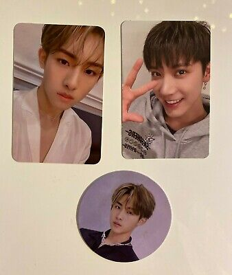 WayV THE 2ND MINI ALBUM: TAKE OVER THE MOON CIRCLE CARD AND PHOTOCARD