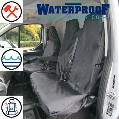 FORD TRANSIT 2011 SINGLE HEAVY DUTY GREY CAMO VAN SEAT COVER
