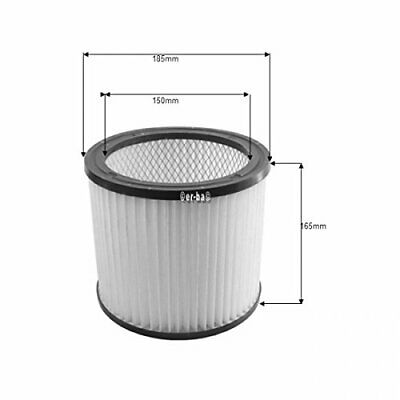 Round Filter Suitable for FAM Aquavac, Washable