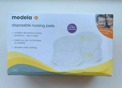 Medela Safe & Dry Ultra Thin Disposable Nursing Pads, 120 Count Breast Pads