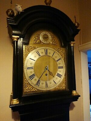 Very Rare 2 month duration London Longcase 6 Pillar!