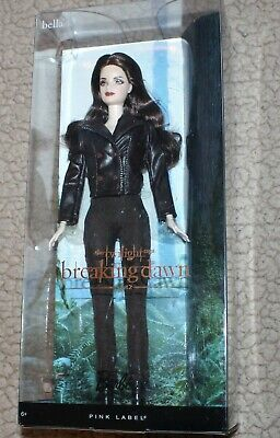 Barbie Pink Label The Twilight Saga Breaking Dawn Part 2 Bella Doll Collector lk