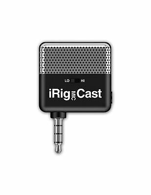 IK Multimedia iRig Mic Cast podcasting mic for smartphones and tablets