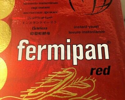 Fermipan Red Professional Baker's Yeast. Dried yeast. Artisan Home Bakery. 50g