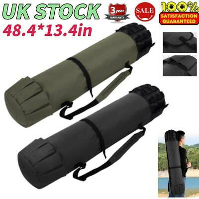 PORTABLE FISHING ROD Carrier Canvas Pole Tool Storage Bag
