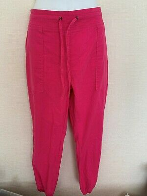 New Ladies Summer Casual Pants Womens Pants Pocket Trousers Size Uk 8-16