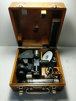 WWII Vintage Sextant Air Forces U.S. Army with original case Ansco Analine Film