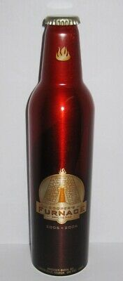 EMPTY - Budweiser Aluminum Beer Bottle #500898 - 2006 COOPERS FURNACE