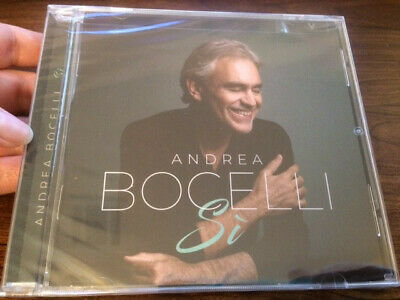 ***BRAND NEW - FACTORY SEALED*** Si by Andrea Bocelli