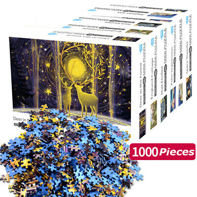 Puzzle Adult 1000 Pieces Jigsaw Decompression Game Home Toy Kids Gift