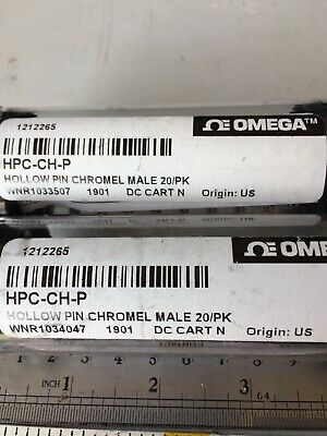 Low Price! Omega HPC-CH-P ThermoCouple Circular Crimp Contacts