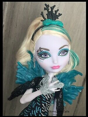EVER AFTER HIGH DOLL CLOTHES 1ST CHAPTER FAYBELLE THORN BLACK GREEN TOP SHIRT