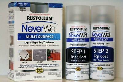 RUST-OLEUM Never Wet Multi-surface Liquid repelling treatment frosted clear