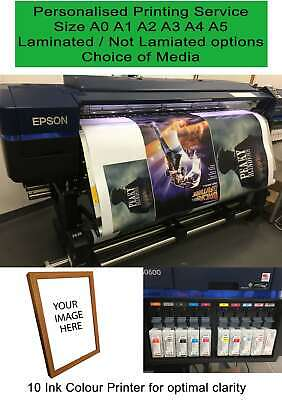 POSTER PRINTING SERVICE HP Latex Inks Ikea Style Poster Sizes large selection