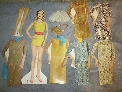 "vintage 14"" bewitched paper doll and  fashions"