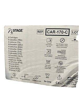 6 Nx Stage Dialysis Kit Acute Care Cartridge REF CAR-170-C  CAR-171-C (12/21)