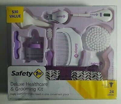 Safety 1st Deluxe Healthcare & Grooming Kit PURPLE 24 Pieces IH437